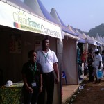 CleanFarms stand at Agricultural show in Ebolowa