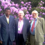 Dr Pierre Baleguel, Terry Wiles and Professor Graham Matthew