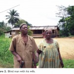 Blind man and wife